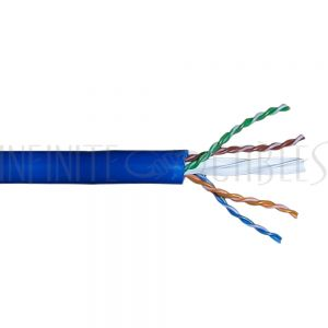 Bulk Cat6a Solid FT4 Cable