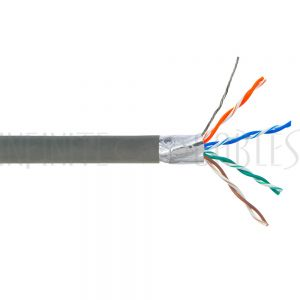 Bulk Cat6 Solid Shielded FT4 Cable