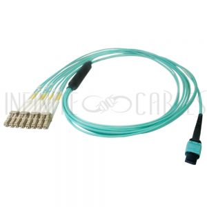 MPO female to 8x LC/UPC Cables