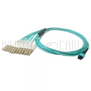 MPO female to 12x LC/UPC Cables