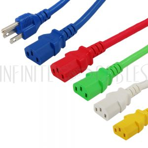 Colored Power Cords