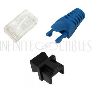 RJ45 Connectors and Boots