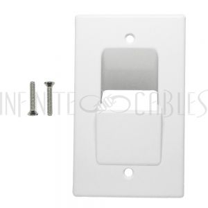 Pass-Through Wall Plates