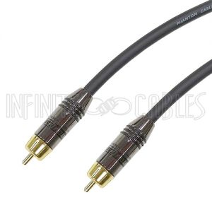 Premium Hi-Flex Composite RCA Male to Male Cables