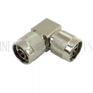 N-Type Male to N-Type Male Adapter - Right Angle