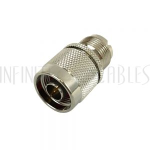 N-Type Male to UHF Female Adapter