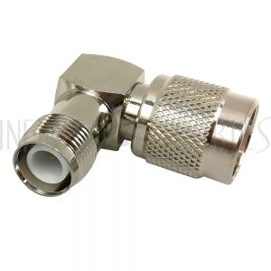 TNC-RP Male to TNC-RP Female Adapter - Right Angle