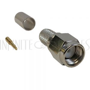 SMA Male Crimp Connector for LMR-240 50 Ohm