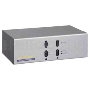 2-Port VGA Video Switch (2 Inputs, 1 Output Selector)