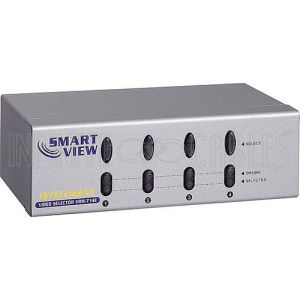 4-Port VGA Video Switch (4 Inputs, 1 Output Selector)