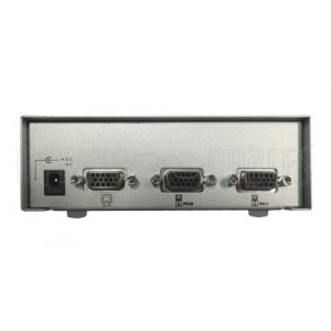 2-Port VGA Video Switch (2 Input, 1 Output Selector)