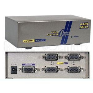 4-Port VGA Video Splitter - 2048x1536