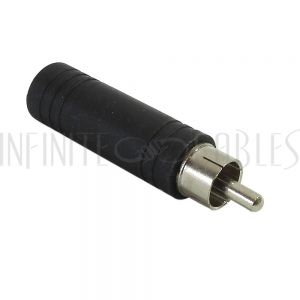 RCA Male to 1/4 inch Mono Female Adapter