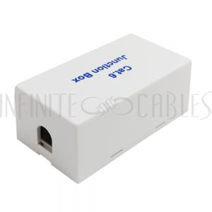 Inline Coupler, 110 Punch-down Cat 6 - White