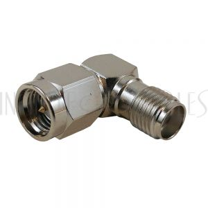 SMA Male to SMA Female Adapter - Right Angle