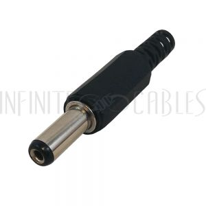 DC Power Connector Male 2.1mm x 5.5mm Plastic Shell