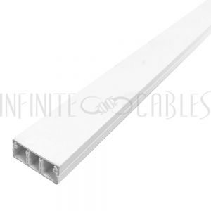 Raceway and Fittings (50mm x 20mm) - White