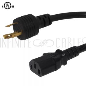 L5-20P to C13 Power Cords