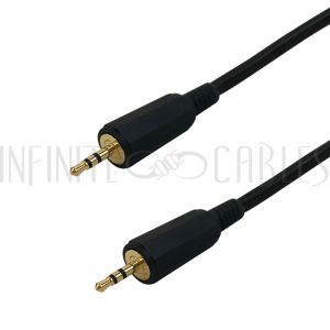 2.5mm Stereo Male To Male - Premium