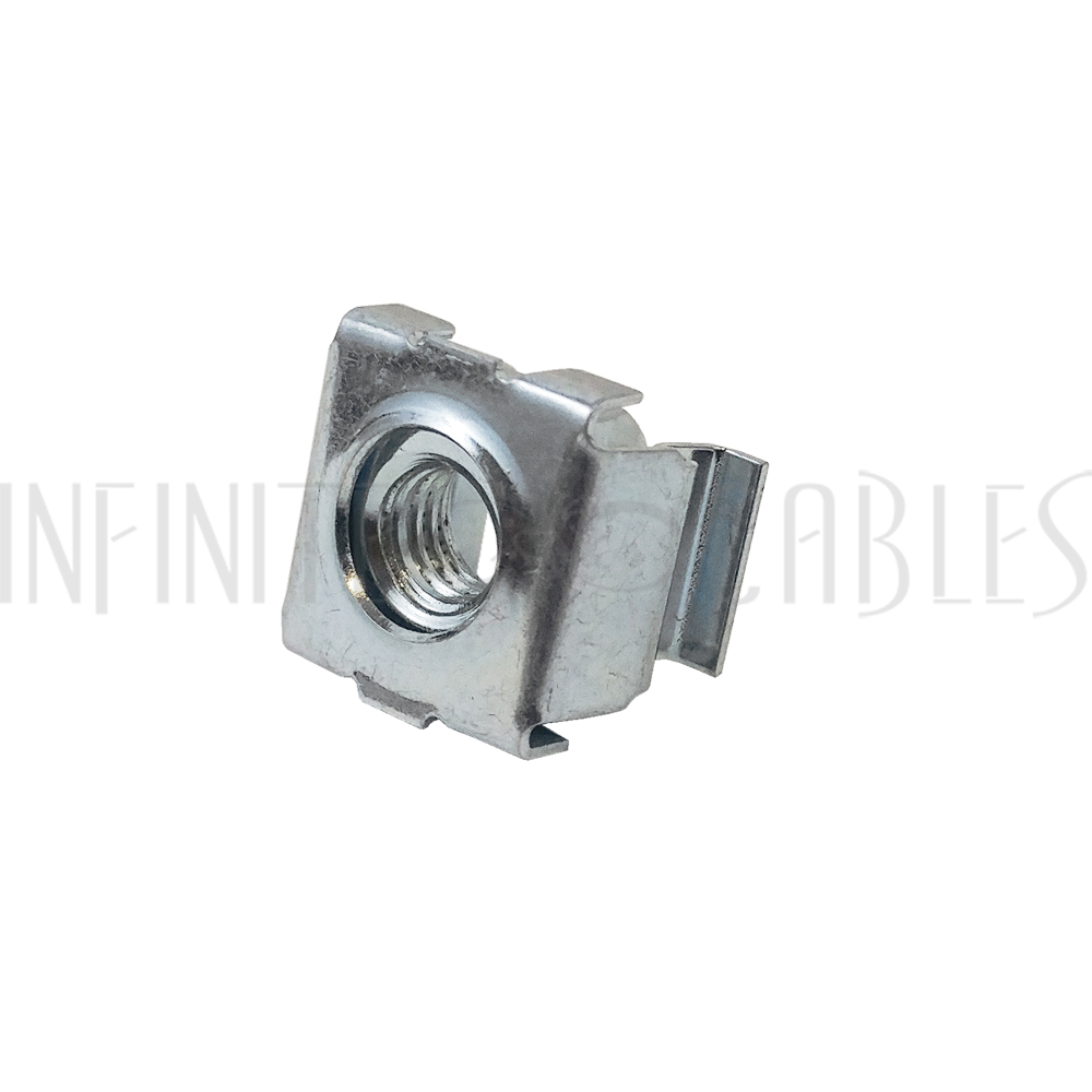 Box of 100 5//16-18 Zinc Plated Square Nuts