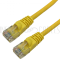 CAT5E-14YL-CT 14ft RJ45 Cat5e 350MHz Molded Boot Patch Cable - Yellow