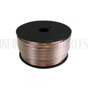 Clear Zip-Cord Speaker Wire