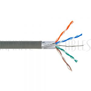 Bulk Cat5e Solid Shielded FT4 Cable
