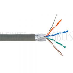 Bulk Cat6 Shielded Stranded FT4 Cable