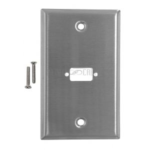 VGA Stainless Steel Wall Plates