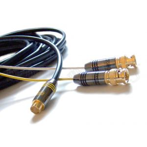 Premium S-Video to 2x BNC Male Cables
