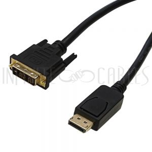 DisplayPort Male to DVI Cables