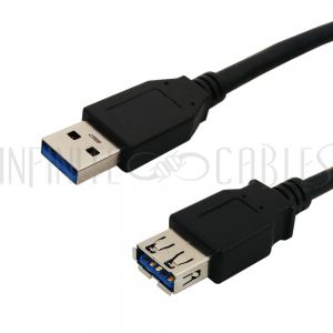 USB 3.0 A Male to A Female Cables