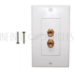 Speaker Cable Wall Plate Kits