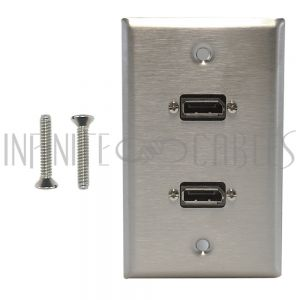 Stainless Steel Wall Plate Kits