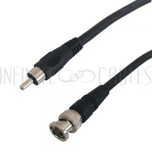 Molded RCA to BNC Cables