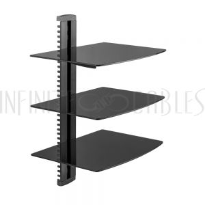 Media Player Wall Mount Shelves
