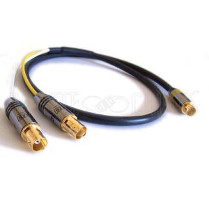 S-Video to 2xBNC Female Cables