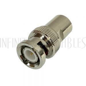 AD-3090 FME Male to BNC Male Adapter - Infinite Cables