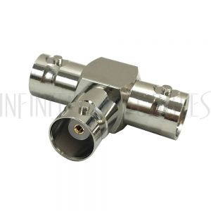 AD-31-FFF BNC Female/Female/Female Tee Adapter - Infinite Cables