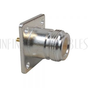 CN-06P-SLD N-Type Female Panel Mount Solder Type Connector