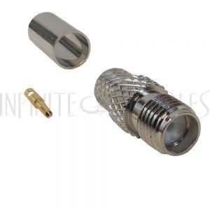 CN-11-240 SMA Female Crimp Connector for LMR-240 50 Ohm - Infinite Cables
