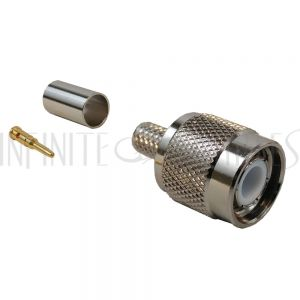 CN-20-240 TNC Male Crimp Connector for LMR-240 50 Ohm - Infinite Cables