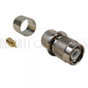 CN-20-600 TNC Male Crimp Connector for LMR-600 50 Ohm - Infinite Cables