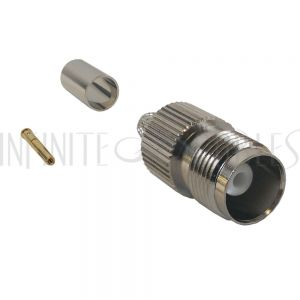 CN-21-240 TNC Female Crimp Connector for LMR-240 50 Ohm - Infinite Cables