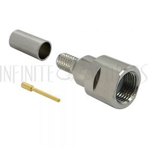 CN-90-195 FME Male Crimp Connector for RG58 (LMR-195) 50 Ohm - Infinite Cables