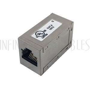 CN-C6-FFS RJ45 Inline Coupler, Cat 6 Shielded - Infinite Cables
