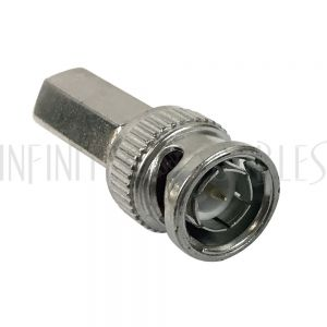 CN-TBNC-59 BNC Male Twist-On Connector for RG59 - Infinite Cables