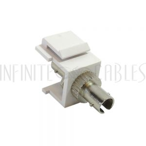 WP-IN-ST ST Female to Female Keystone Wall Plate Insert - Infinite Cables