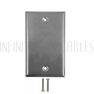 WP-SS1 Wall plate, Solid Stainless Steel
