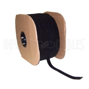 VL-BK75-600BK 600ft 3/4 inch Rip-Tie WrapStrap - Black - Infinite Cables
